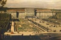 Bernardo Bellotto, gen. Canaletto: Schönbrunn Gartenseite, Ölgemälde, 1759/60